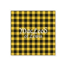 "Tartan - MacLeod of Lewis Square Sticker 3"" x 3"""
