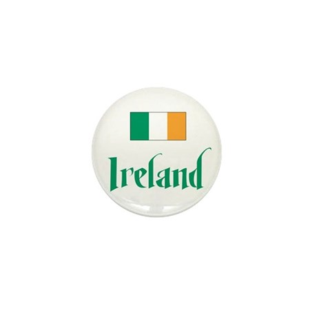 Ireland Flag Mini Button (100 pack)