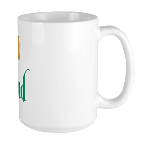 Ireland Flag Large Mug