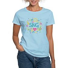 Sing Choir Music T-Shirt