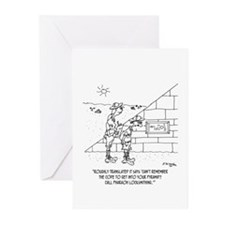 Locksmith to the Pharaohs Greeting Cards (Pk of 10
