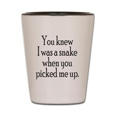 Snake Shot Glass
