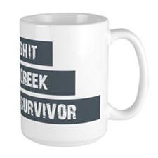 Shit Creek Survivor Ceramic Mugs
