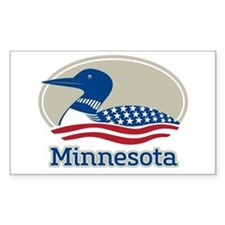 Proud Loon Minnesota Decal