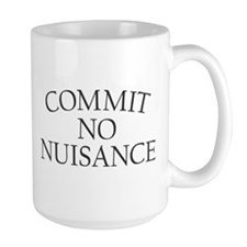 Commit No Nusiance Mug