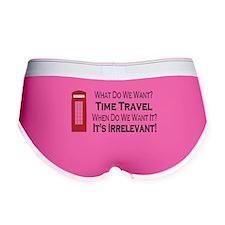 Time Travel Women's Boy Brief