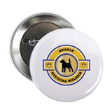 Beagle Walker Button