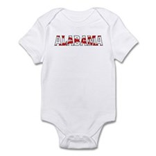 Alabama Flag Infant Bodysuit