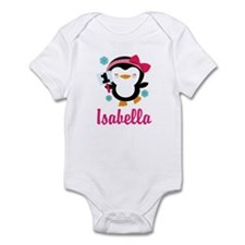 Custom 1st Birthday Penguin Infant Bodysuit
