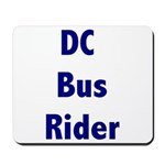 DC Bus Rider Mousepad