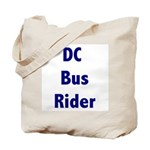 DC Bus Rider Tote Bag
