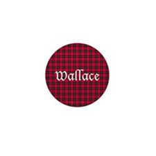 Tartan - Wallace Mini Button