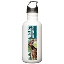 Horse Neglect - No Excuse. Water Bottle