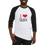 I Love Yarn Baseball Jersey