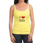 I Love Yarn Jr. Spaghetti Tank