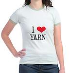 I Love Yarn Jr. Ringer T-Shirt