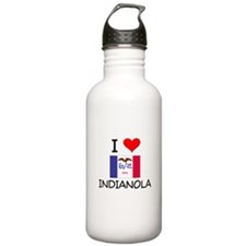 I Love Indianola Iowa Water Bottle