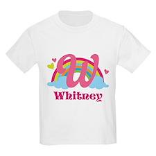 Personalized W Monogram T-Shirt