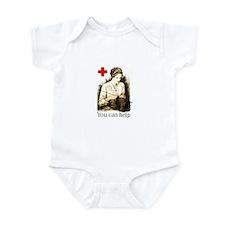 WWI Knitter Infant Bodysuit
