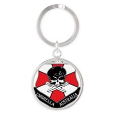 Umbrella Australia - River CIty Hiv Round Keychain