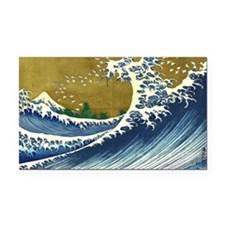 The Great Wave Rectangle Car Magnet