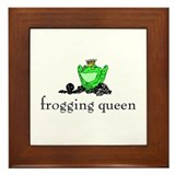 Yarn - Frogging Queen Framed Tile