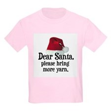 Santa Bring More Yarn Kids T-Shirt