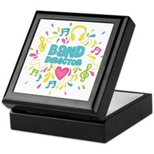 Marching Band Director Keepsake Box