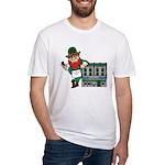 Masonic Hall for the Irishman Fitted T-Shirt
