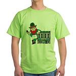 Masonic Hall for the Irishman Green T-Shirt