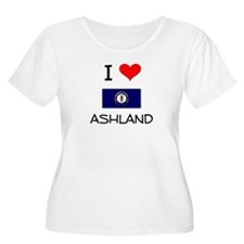 I Love ASHLAND Kentucky Plus Size T-Shirt