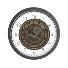 Catching Fire 75th Hunger Games Wall Clock