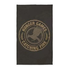 Catching Fire MockingJay Logo 3'x5' Area Rug