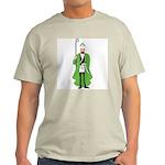 St. Patrick as a Freemason Ash Grey T-Shirt