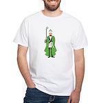 St. Patrick as a Freemason White T-Shirt