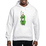 St. Patrick as a Freemason Hooded Sweatshirt