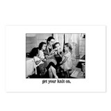 Get Your Knit On Postcards (Package of 8)