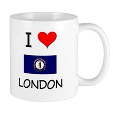 I Love LONDON Kentucky Mugs