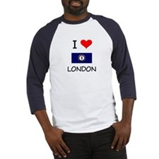 I Love LONDON Kentucky Baseball Jersey