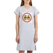 Monkey Doctor & Nurse Zig Zag Women's Nightshirt