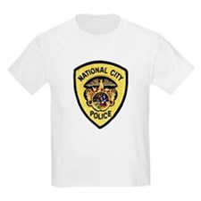 National City Police Kids T-Shirt