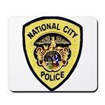 National City Police Mousepad