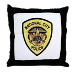 National City Police Throw Pillow