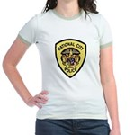 National City Police Jr. Ringer T-Shirt