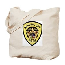National City Police Tote Bag