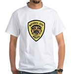 National City Police White T-Shirt