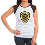 National City Police Women's Cap Sleeve T-Shirt