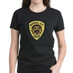 National City Police Women's Dark T-Shirt