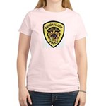 National City Police Women's Pink T-Shirt