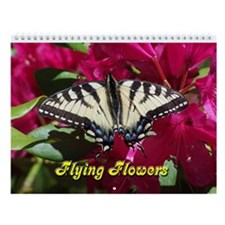 Flying Flower Wall Calendar